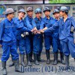 hút bể phốt tại Quế Võ Bắc Ninh