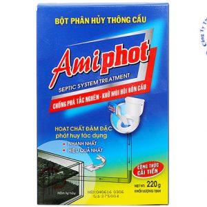 Bột Amiphot Thông Tắc Bồn Cầu – Triệt để.