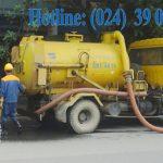 Dịch vụ hút bể phốt tại Chu Văn An.